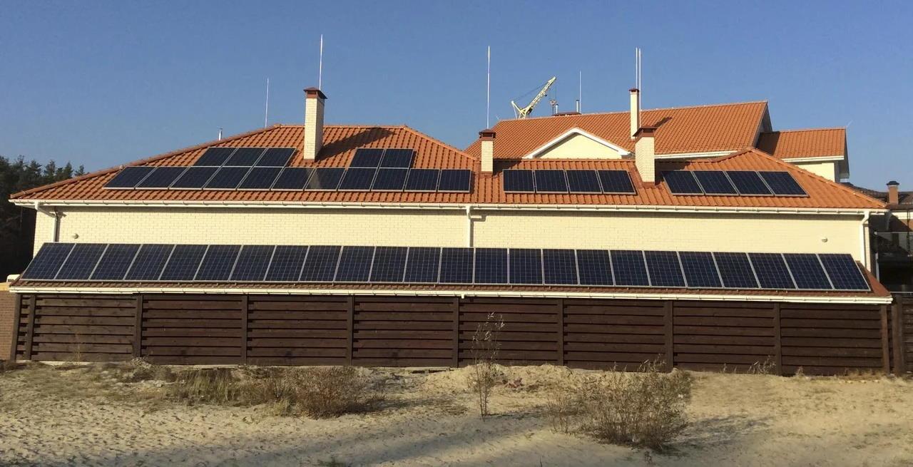 Солнечная электростанция гибридного типа в Крыму